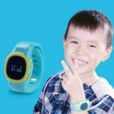 Kids Safetyのための子供GPS Tracker Bracelet Smart Watch