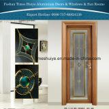 緩和されたガラスが付いているアルミニウムシャワーのドア
