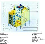 Tipo quadrato di flusso del contatore della torre di raffreddamento