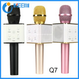 Microphone stéréo de karaoke de Bluetooth de microphone portatif de la radio Q7
