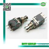 Positions-Drucktastenschalter Pbs-24-102p des Dpst Drucktastenschalter-2