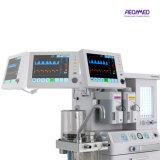 De la máquina anestésica de múltiples funciones del Ce sitio de trabajo neumáticamente conducido y electrónicamente controlado aprobado o médica de la anestesia Aeon8300 con el ventilador