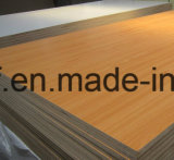 2mm Bonne qualité E1 Glue Red Color Melamine MDF Board