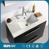 Vaidade quente do banheiro do estilo de Europa da venda com gabinete do espelho (SW-1307)