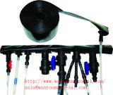 Belüftung-gelbe/blaue/rote Bewässerung gelegter flacher Schlauch/Rohr/Gefäß