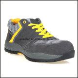 Zapatos de seguridad baratos del tiempo de trabajo del modelo escotado del deporte