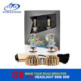 2017년에 차 정면 안개등 전구를 위한 6000k G3 차 LED 헤드라이트 전구 변환 장비 9006 30W 3200lm LED 자동 Headlamp