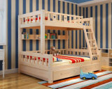 단단한 나무로 되는 침대 룸 2단 침대 아이들 2단 침대 (M-X2216)