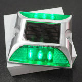 borne solaire de route de plots réflectorisés 6LED