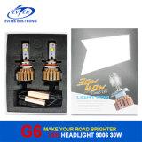 farol do diodo emissor de luz do jogo 9006 30W 3200lm da conversão dos bulbos do farol do diodo emissor de luz do carro de 6000k G3 auto para a ampola de névoa da parte dianteira do carro em 2017