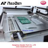 安定性が高い2つのヘッドSMDコンポーネントSMTの一突きの場所機械Neoden3V 24送り装置PCBはんだ付けする機械