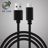Fio do cabo de dados do USB 2.0 C para o fio do cabo de dados