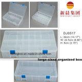Großformatiger Plastikfach-Raum-Kasten