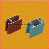 O perfil de alumínio expulsa anodização do revestimento do pó do material de construção