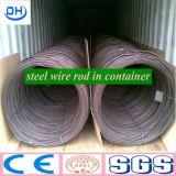 중국 Tangshan 열간압연 SAE1008 5.5mm 철강선 로드