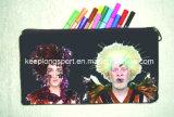 Sacos do lápis do neopreno da impressão da transferência térmica, caixa de lápis do neopreno