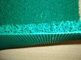 두 배 색깔 다이아몬드 역행 PVC 코일 매트