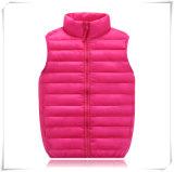 Куртка 604 гусыни цвета контраста детей напольная проложенная вниз