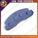 튼튼한 차는 Toyota를 위한 브레이크 패드 04465-0f010 사용을 분해한다
