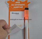 Libreta de papel magnética personalizada del cojín de nota para el refrigerador