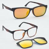 Le plus défunt clip neuf d'Utum d'action de vente en gros de modèle sur des sports Sunglass Tj011 d'Optique-Lunettes de soleil