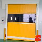 A liga de alumínio personalizada rápida rola acima a porta