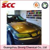 краска автомобиля брызга золота 1k средств серебряная жидкостная