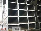 Geläufiger Kohlenstoff-rechteckiges Stahlgefäß