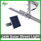 Luz de rua solar ao ar livre do diodo emissor de luz 24W da boa qualidade