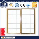 Spätestes Entwurfs-Doppelverglasung-Aluminium-schiebendes Fenster /Grill konzipierte Aluminiumfenster
