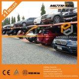 Prix de levage de stationnement de case de deux véhicules de poste double
