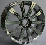 Rueda de lujo de la aleación del cromo de 20 pulgadas para los coches del pasajero SUV 4X4 de BMW land rover Chevrolet Lincoln del Benz