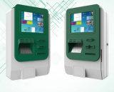 Установленное Kiosk Enclosure Cabinet с Printer