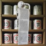 広告洗面所のワイプの広告によって印刷されるトイレットペーパーのおかしいトイレットペーパー
