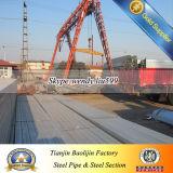 Tubo cuadrado galvanizado sumergido caliente de la estructura de Bs1387 Q235 ERW
