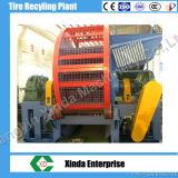 Vollständiger Gummireifen-/Reifen-Reißwolf-neuer Zustands-Abfall-Reifen des Schrott-Zps-900, der Maschine aufbereitet