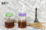[450مل] [15.8وز] مختلفة شكوك لبن عصير شام قهوة مرطبان زجاجيّة مع قصدير غطاء وماص
