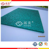 2016 UVResistant Rain Drop Embossed Polycarbonate Sheet für Roofing