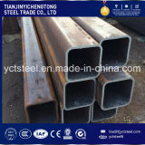 Tubo de acero rectangular cuadrado A36 Ss400 St37