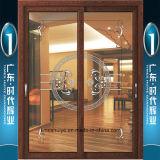Puertas deslizantes rotas de aluminio del puente de la marca de fábrica de la tapa 10 de China