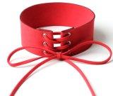 Collar ancho del cordón con la manera Chocker del collar del terciopelo