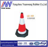 Cone de borracha do tráfego da segurança de estrada com preço do competidor