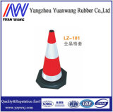 Gummiverkehrssicherheit-Verkehrs-Kegel mit konkurrenzfähigem Preis