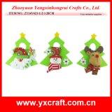 Árbol de navidad artificial del aro de la perilla de puerta de la Navidad de la decoración de la Navidad (ZY14Y423-1-2-3)