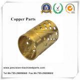 銅の自動車、ナット、機械部品CNCの機械化の部品