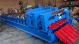 容易機械を形作る自動着色された艶出しの鋼鉄タイルを作動させなさい