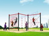 Equipo al aire libre de los niños de la diversión de la gimnasia del patio de la aptitud del parque