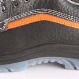 Precio escotado de cuero RS6163 de los zapatos de seguridad de Palmprint de la mano
