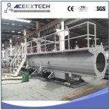 Línea del tubo del abastecimiento de agua del tubo de gas del PE Machine/HDPE