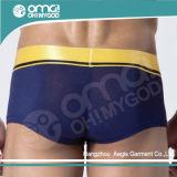 Pugilista respirável dos homens do roupa interior das calças do melhor Spandex macio (D11)